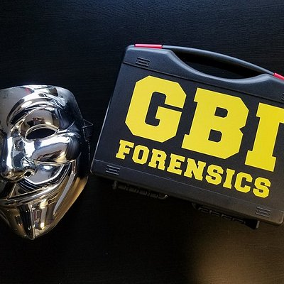The G.B.I forensics kit your team will use to stop the Hacker.