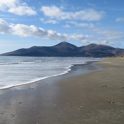 From Dundrum looking towards Newcastle
