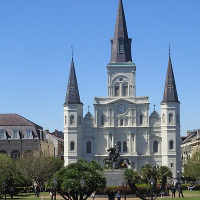 Jackson Square and the Cathedral