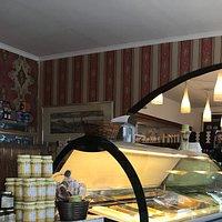 Butik og cafe