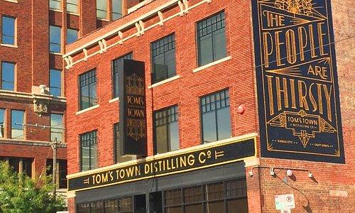Tom's Town Distilling Co. at 1701 Main
