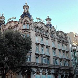 Edificio del Gran Hotel. Muy bonito.