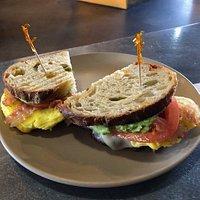 Show Off Breakfast Sandwhich
