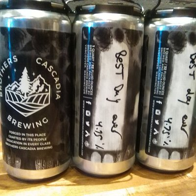 Microbrews canned on the spot for take-out