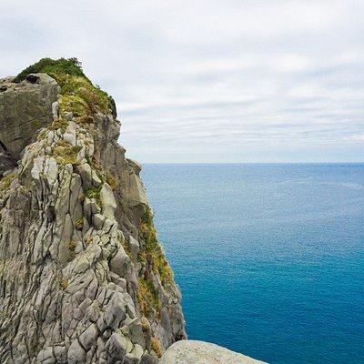 壱岐のシンボル猿岩