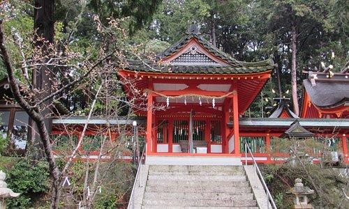 広八幡神社の拝殿