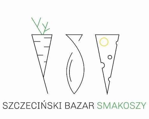 The logo of Szczeciński Bazar Smakoszy