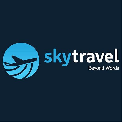 Sky Travel logo