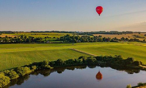 Kent Ballooning   Stunning Scenery