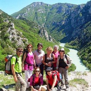 Randonnée dans les gorges du Verdon , à découvrir !
