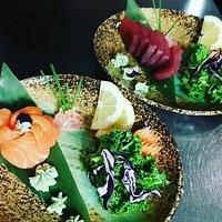 The freshest sashimi.