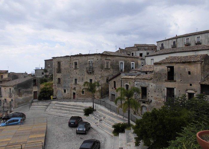 La piazza-belvedere di Siderno Superiore