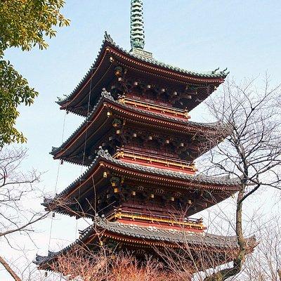 Kyu Kaneiji Five-Storied Pagoda