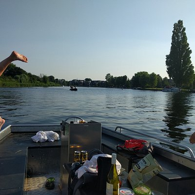 Great swimming in the crystal clear Loosdrecht Amsterdam Pleasure Lakes!