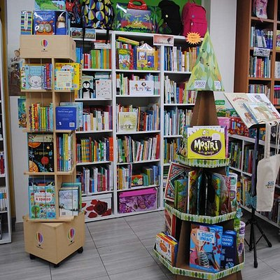 Panoramica della libreria sezione 0-3 anni