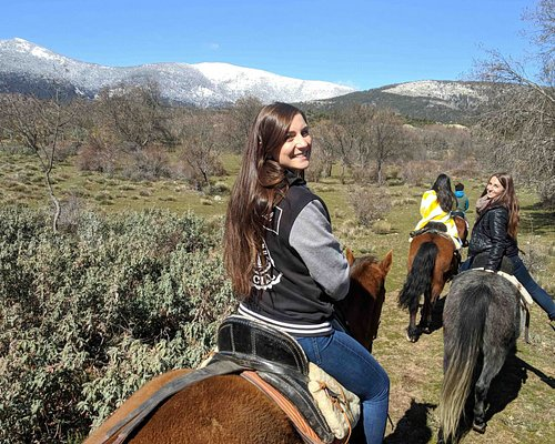 horse riding in Madrid