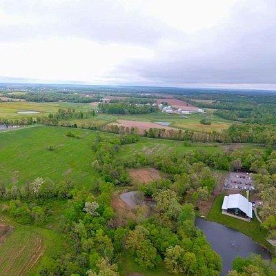 Birdseye view of Burdoc Farms!