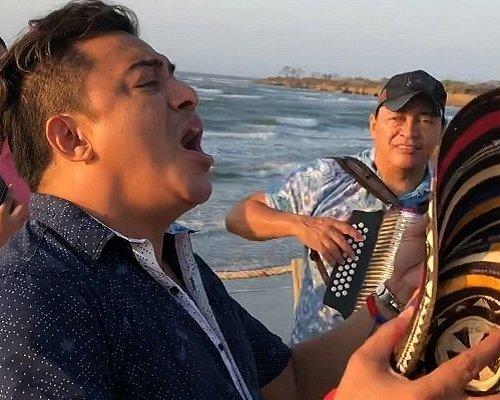 "Classic vallenato - Colombian accordeon-based ""country music"""