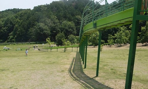 観音山ファミリーパーク 滑り台