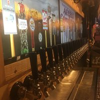 44 different styles of beer on tap