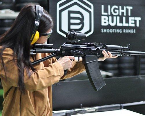 Light bullet shooting range the best indoor in Thailand
