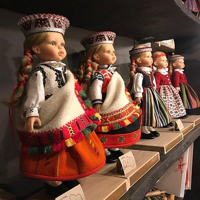 BAIBA doll in national costume of Latvia is the childhood dream of every Latvian woman.