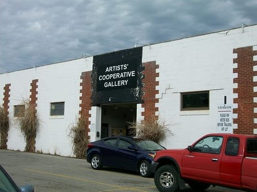 Artists' Cooperative Gallery - entrance, Old Market, Omaha