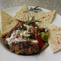 Lamb Kofte and salad