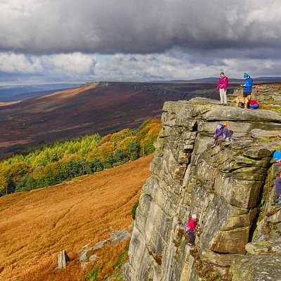 Autumn at Stanage Edge on Guided Walk
