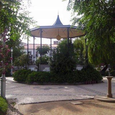 Jardim da Praça Pública em Mourão