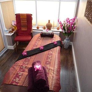 Thai Relax - treatment room.