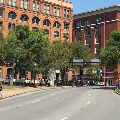 Grassy Knoll and Book Depository