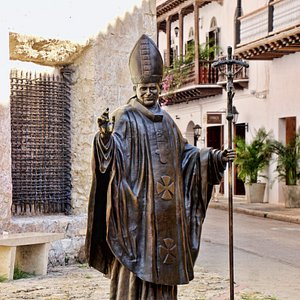 Cartagena - Estatua de Juan Pablo II