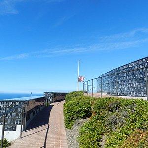 Memorial near President Teddy Roosevelt Memorial