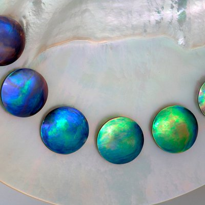 Blue Pearls come in this range of colours!