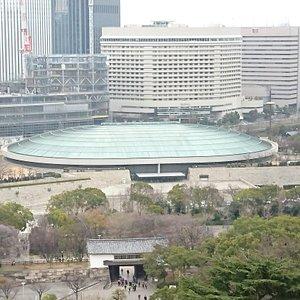 上から見た大阪城ホール