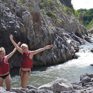 The early descent of the rio Coco into Somoto Canyon