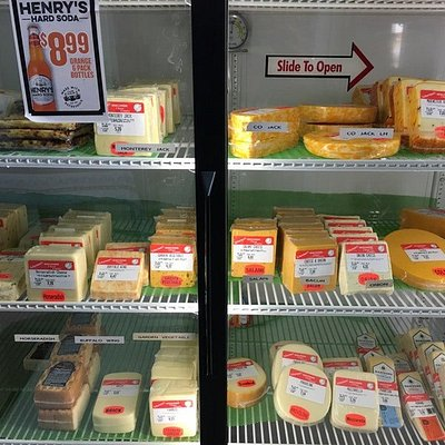 Schurman's Wisconsin Cheese Country - cheese selections