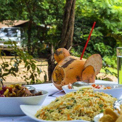 Lunch at Udawalawe Safari Camping