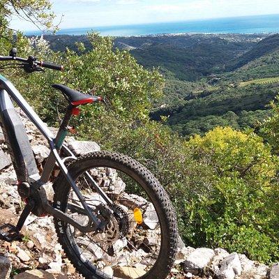 route Estepona Mountains