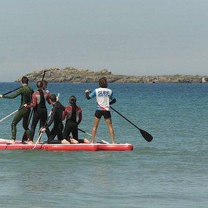 Paddle géant, pour un moment fun en famille ou entre amis