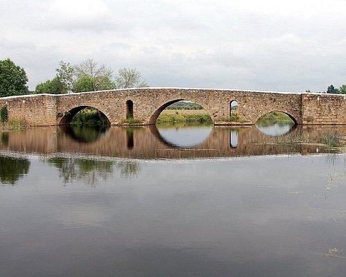 Ponte romana sobre a ribeira de Monforte (Monforte)
