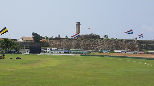 Galle Fort from the Ground