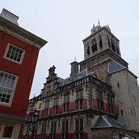 """""""Het Steen"""";Stadsgevangenis in toren uit 13de eeuw Stadhuis"""