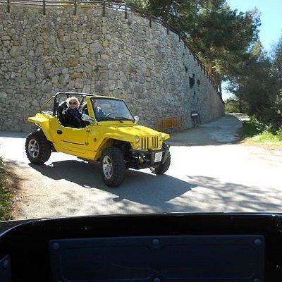 unsere quad´ix / mini-jeep machen  spass bei serpendienen