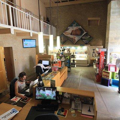 Espace accueil de l'office de tourisme