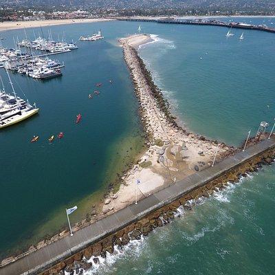 Kayaking the Santa Barbara Harbor