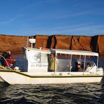 Le bateau le Pluvier.