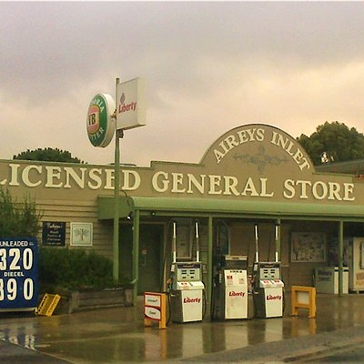 Aireys Inlet General Store is Licensed. Very friendly staff!  [March 2018]