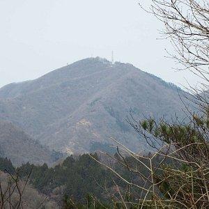 途中からは弥彦山も見られました。